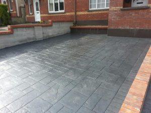 imprint concrete driveway