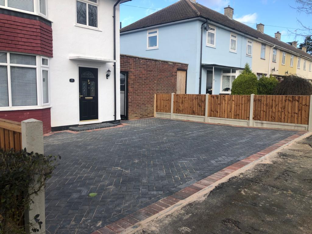 Block Paving Driveway Installed in Chelmsford