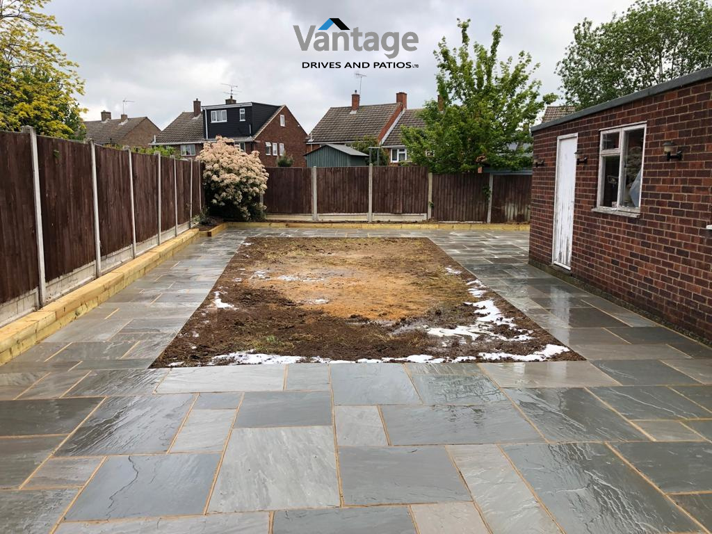 Patio Garden Installation in Chelmsford