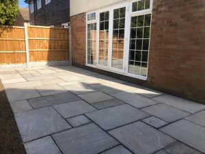 New Driveway, Footpath and Patio in Billericay, Essex