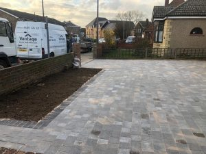 Tegula Block Paving Driveway in Stanford-le-Hope, Essex