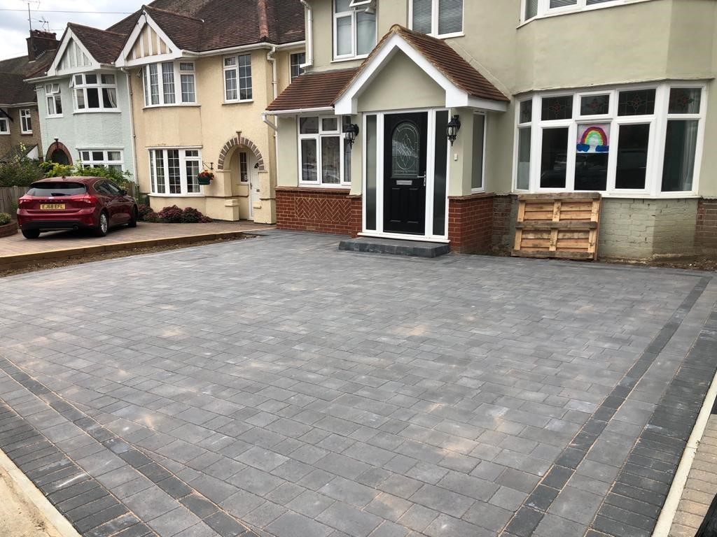 Tegula Paving Driveway in Broomfield, Chelmsford