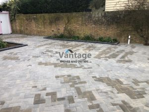 Ash Block Paved Driveway in Chelmsford