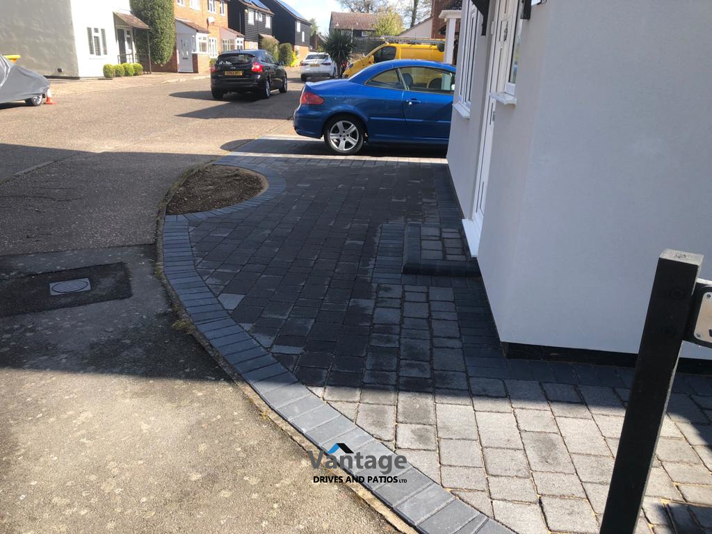 Tegula Paved Driveway in Chelmsford, Essex