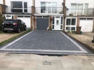 Extended Block Paved Driveway in Writtle, Essex